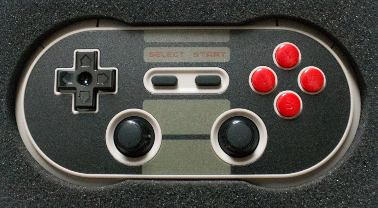 8BITDO NES30 Pro Wireless Bluetooth Controller.
