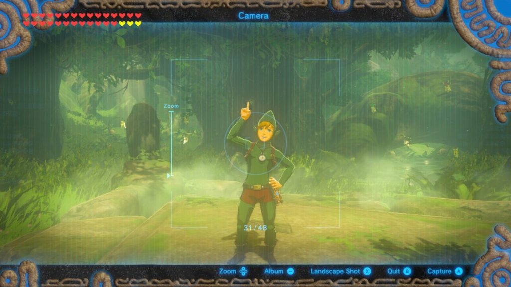 Tingle Outfit, which boosts your speed at night.