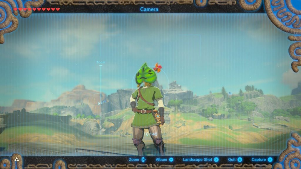 The Korok Mask shakes, sparks, and makes noise when you're near a Korok Seed. The little windmill spins, too!