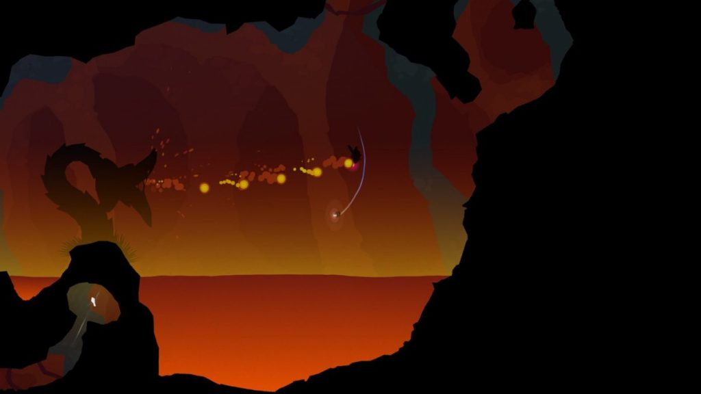 The first boss battle in Forma.8. Good luck!