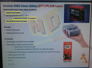 SNES Classic stock numbers
