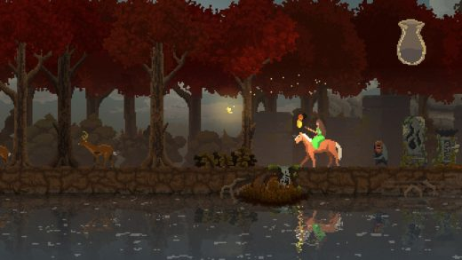 Kingdom: New Lands: Losing the crown in autumn.