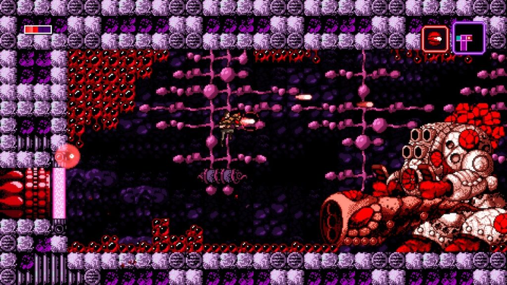 The boss battles in Axiom Verge are extremely well executed, and super satisfying to beat!