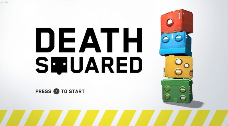 Death Squared Title Screen