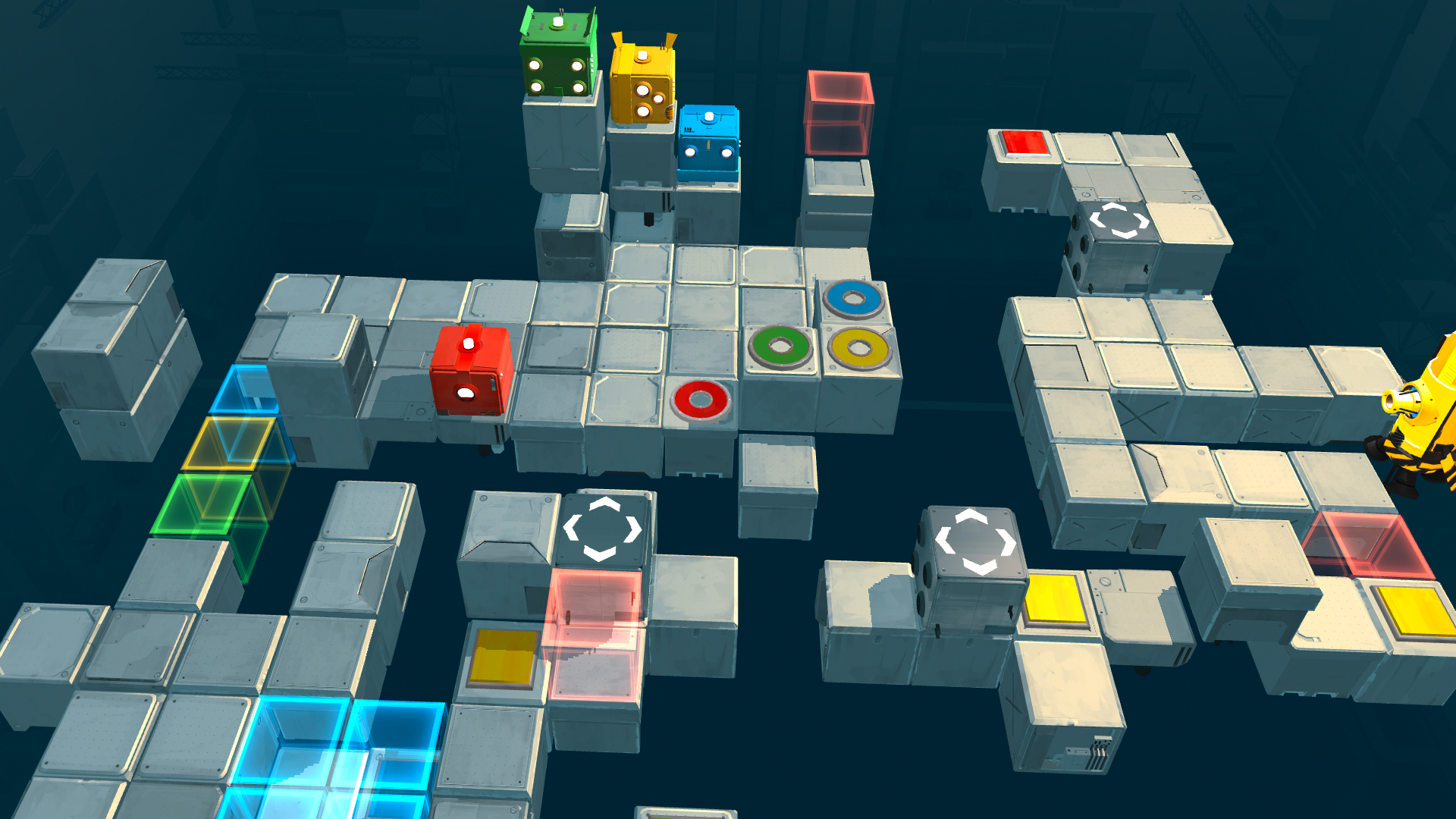 Death Squared 4 Player 2