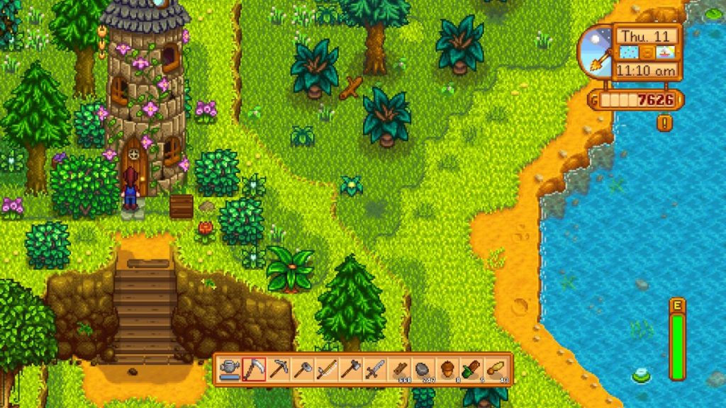 Tired of your modern life? Move to Stardew Valley and enjoy the simple life!