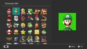 New Nintendo Switch profile icons available after update 4.0.0