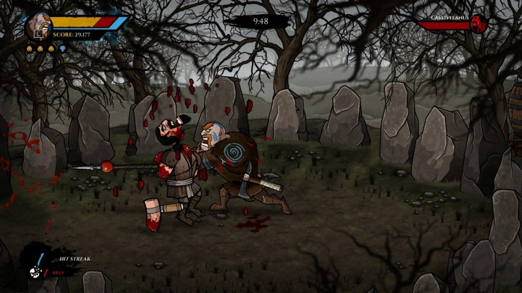 Fair warning: WULVERBLADE is one of the bloodiest titles for Switch. Keep reading if you can handle the gore!