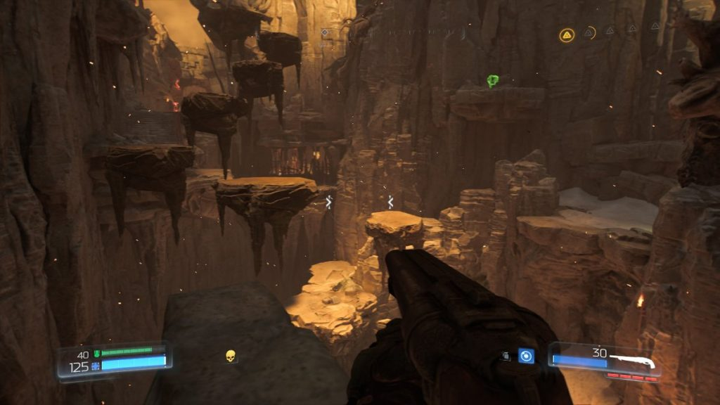 Platforming in any FPS can be tricky, and we wish this dynamic had been left out.