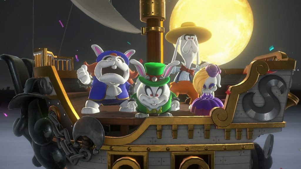 Meet the Broodals, Bowser's hired wedding help.