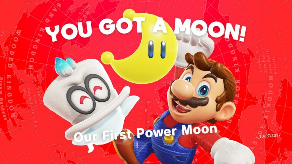 SMO revolves around the collection of Power Moons, which give the Odyssey energy to run.