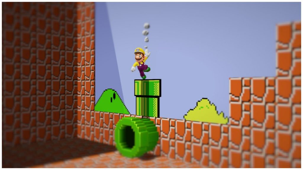When you play 2D platforming sections in SMO, you'll hear retro tunes to match!
