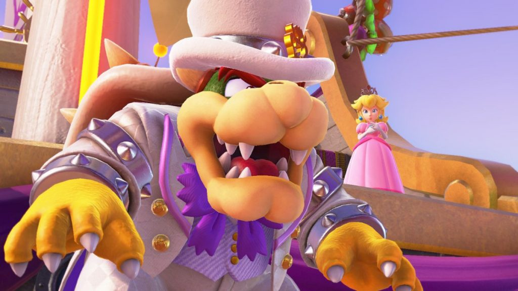 Can you save Peach and Tiara from Bowser's wrath! Give it your best shot in SMO today!