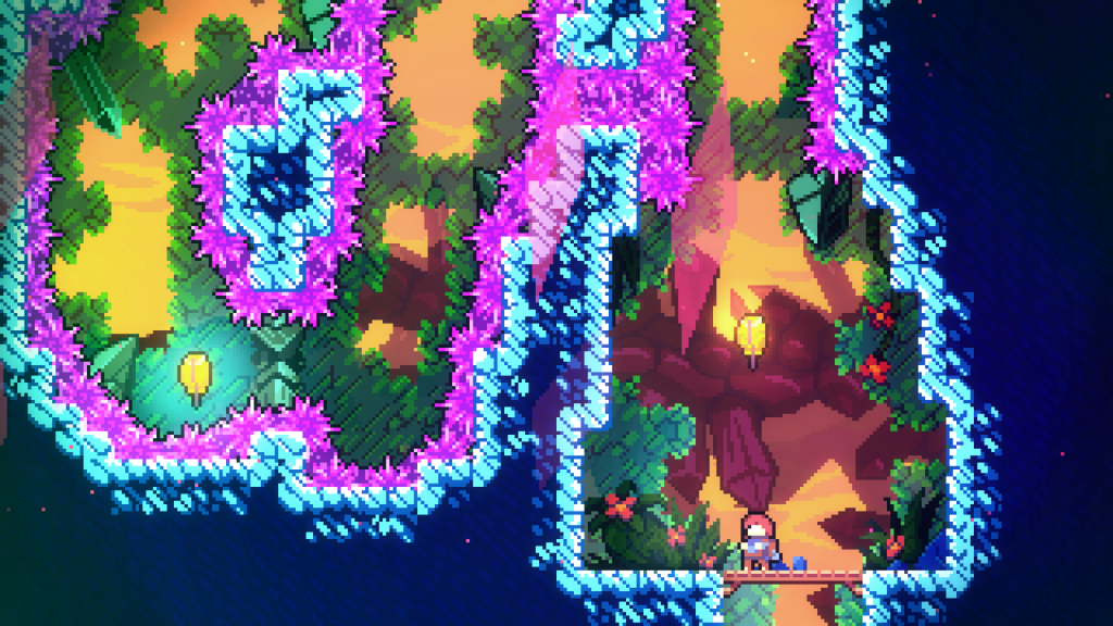 We love the retro-style graphics of Celeste: simple with the perfect amount of flair.