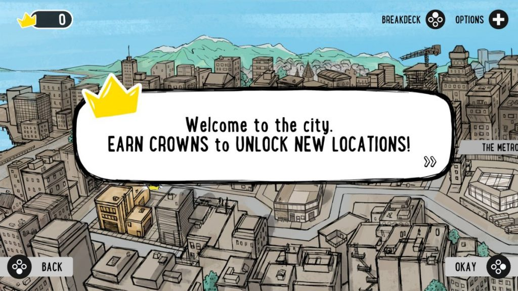 "Explore ""the city"" in Floor Kids and aim to unlock the whole thing!"