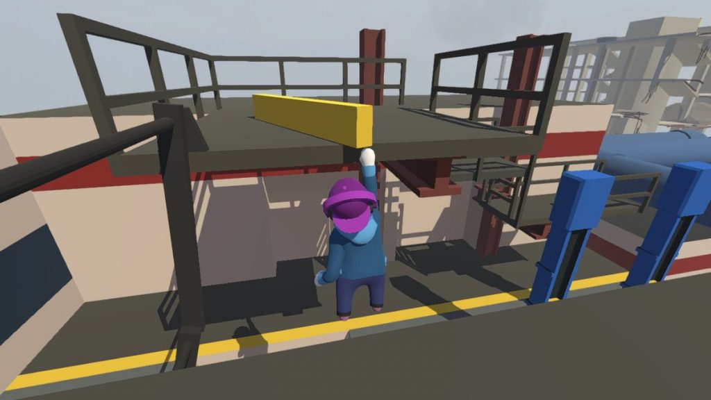 Reach for the stars—or maybe just for the nearest helpful object—in Human: Fall Flat!