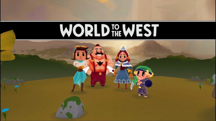 World to the West Title 2