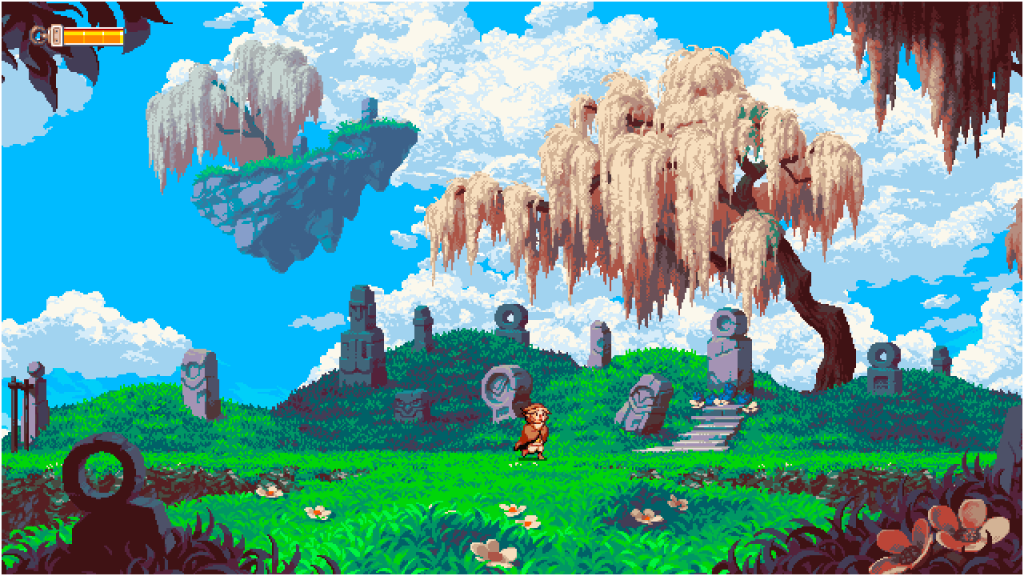 We're so in love with this game's gorgeous pixel art.