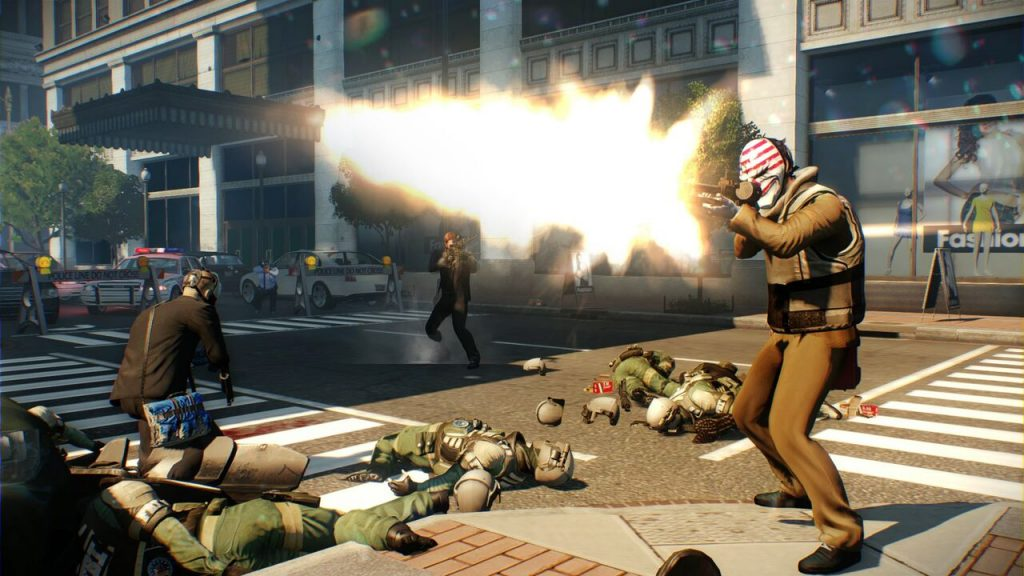 PAYDAY 2's graphics, sound, and HD rumble on Switch make for an immersive experience.