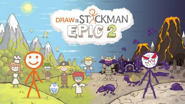 Bring Your Drawings To Life In Draw A Stickman Epic 2 Nintendeal