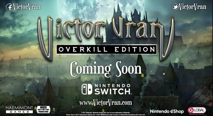 Victor Vran Nintendo Switch
