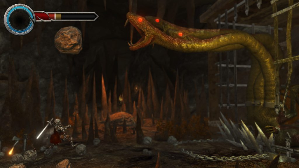 This game's boss fights are particularly challenging.