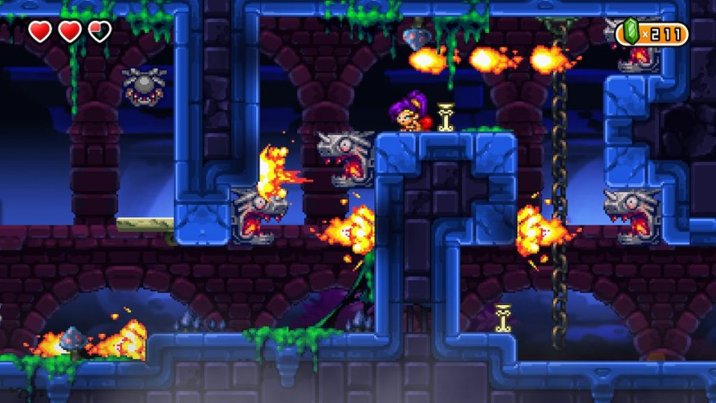 We love Shantae's classic 2D platforming feel.