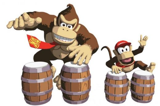 Donkey Kong Drums Switch