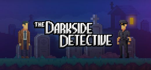 The Darkside Detective Title