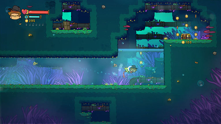 The graphics are the perfect mix of quirkiness and whimsy, and they're gorgeous on Switch.