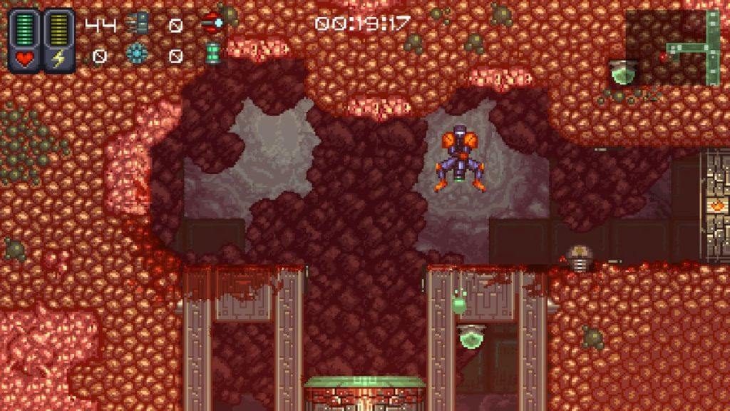 A Robot Named Fight is a Metroid-like indie with plenty of challenge and tons of replayability.