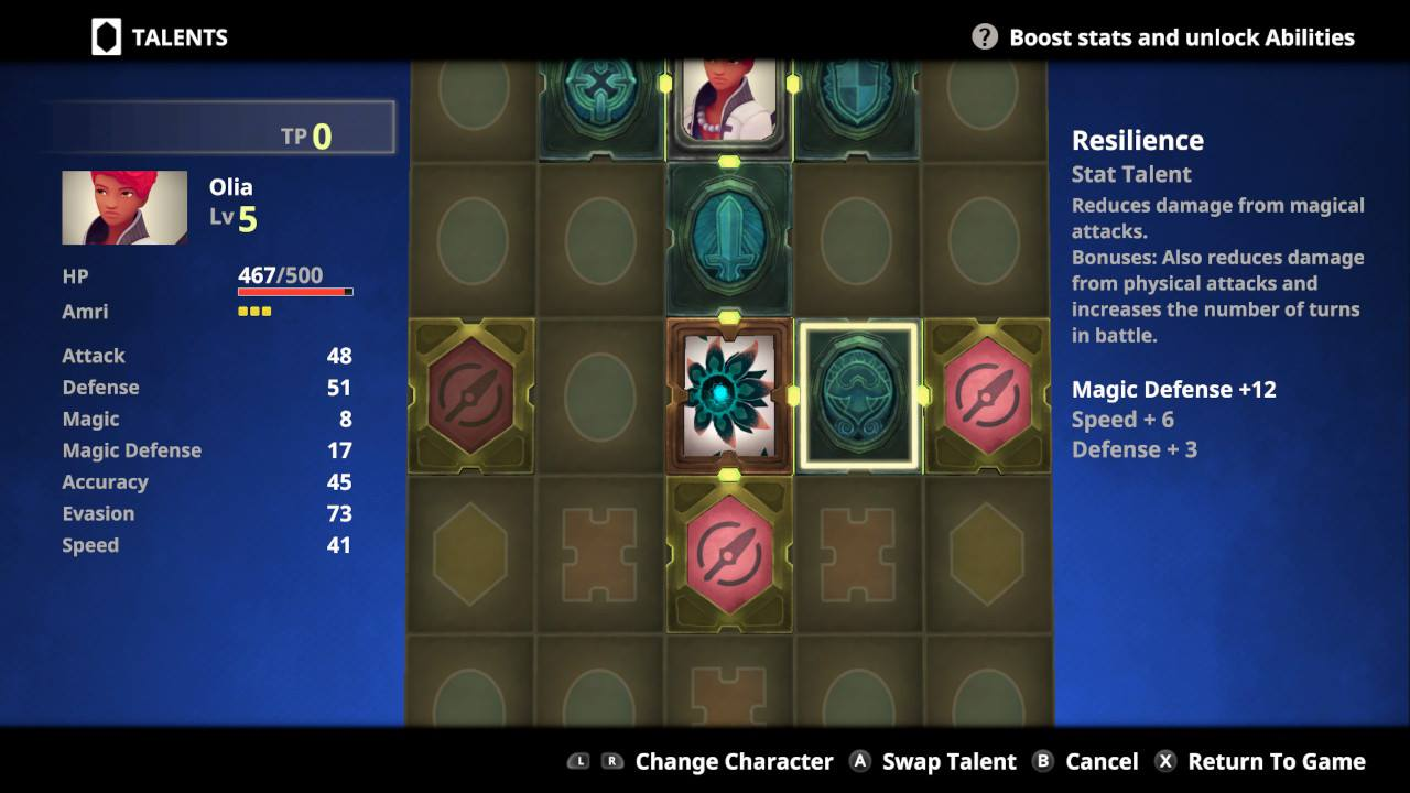Earthlock Skill Tree