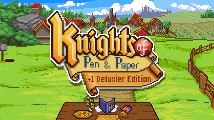 Knights of Pen and Paper Title 1