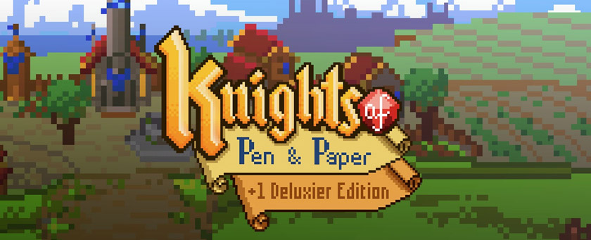 Knights of Pen and Paper Title 2