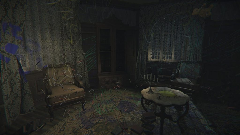 The game often traps you in a room if you need to solve a puzzle in that room.