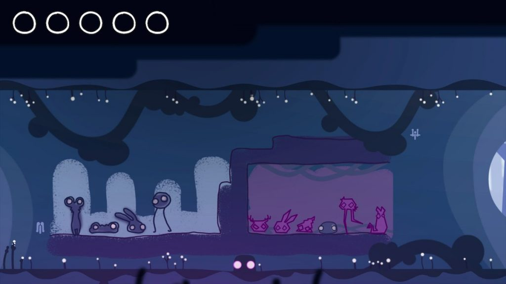 Semblance features a moody color scheme.