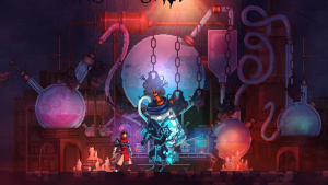Dead Cells' visuals are eye candy for fans of retro-style roguelites and metroidvanias.