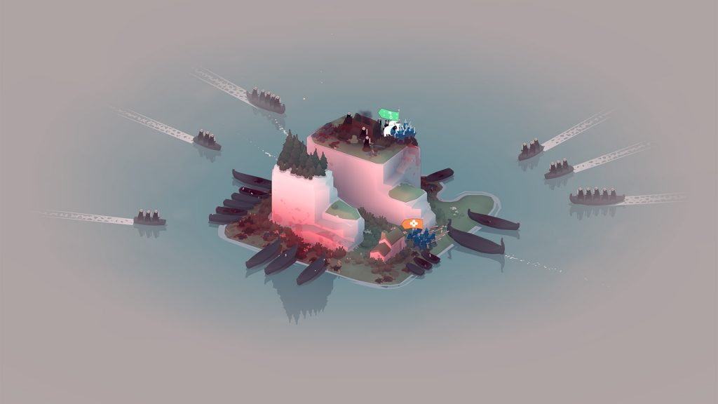 Procedural generation guarantees you'll never play the same level twice.