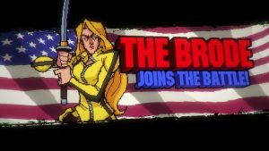There are a few women bros, like The Brode, inspired by Kill Bill's The Bride.
