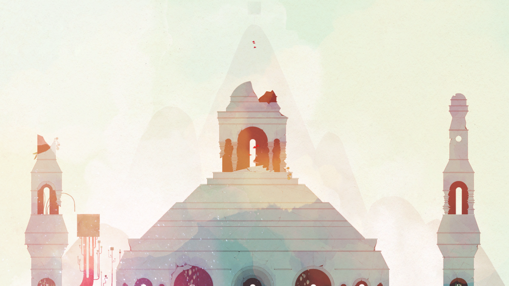 Even when color is largely absent, most screenshots of GRIS could pass for masterful watercolor paintings.