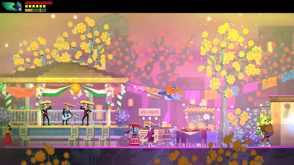 If you like the sound of a super-accessible Metroidvania-style platformer, give Guacamelee! a shot today!
