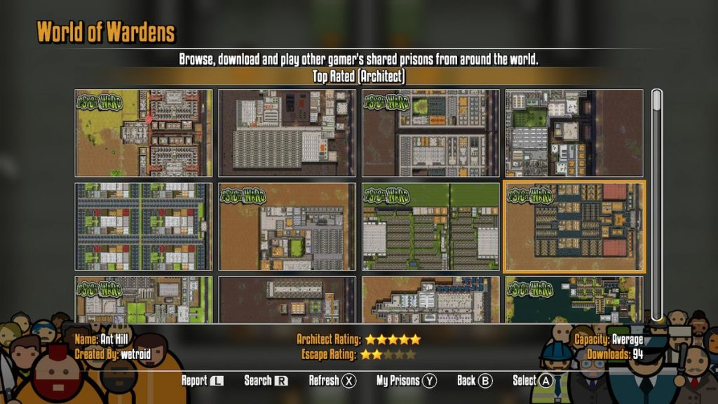 World of Wardens lets you play prisons from around the world.