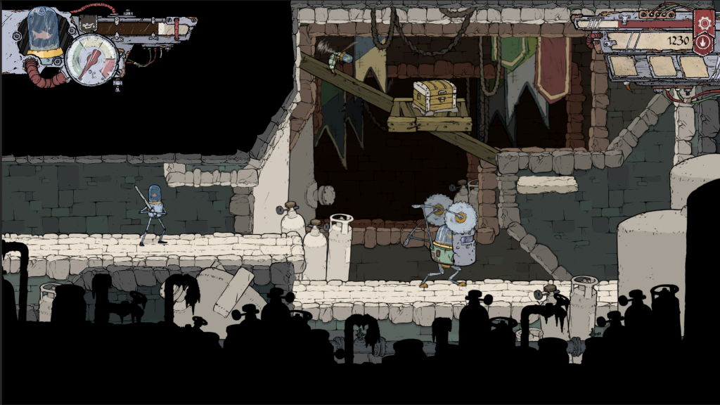 Explore the winding network of cellars as you quest to avenge your town.