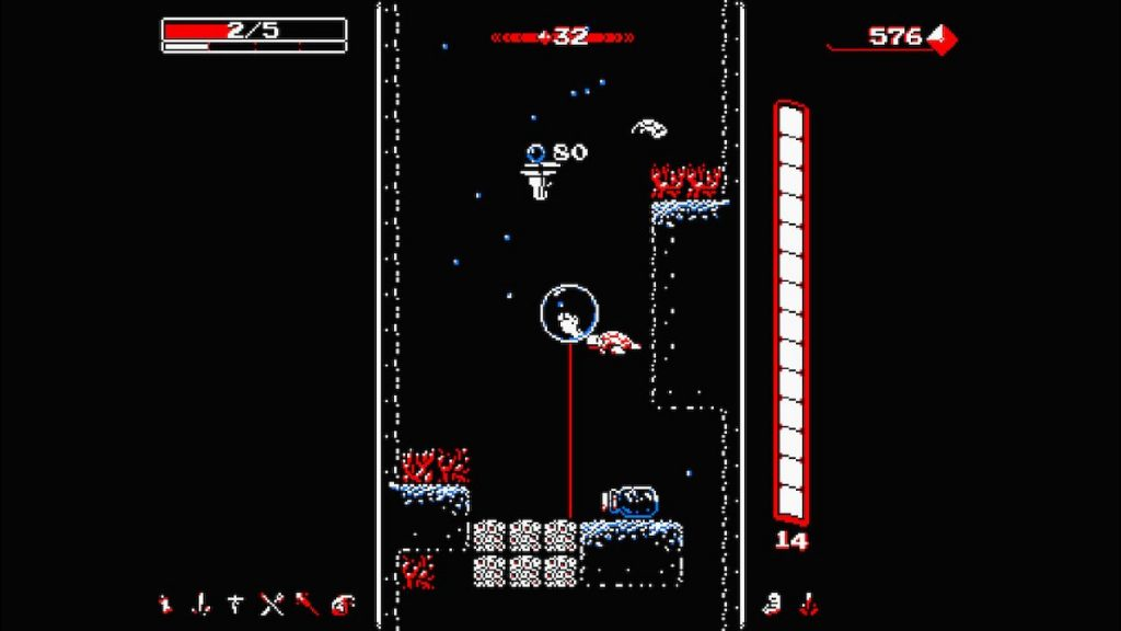 Jump into Downwell, and see how deep you can get!