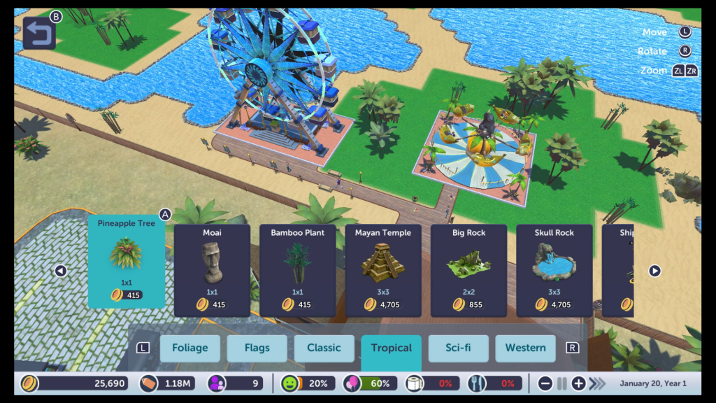 We think this game is a Nintendeal for any serious RollerCoaster Tycoon fan with an itch to play on Switch.
