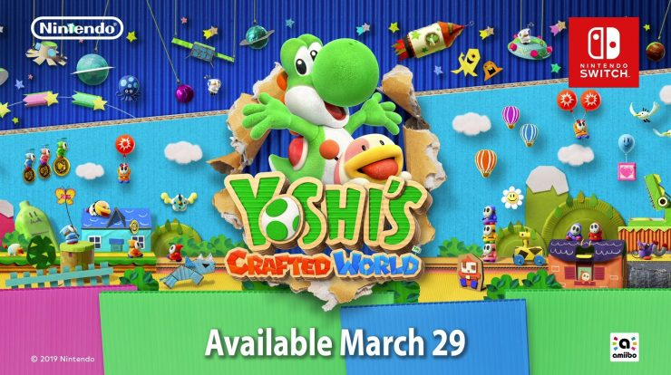 Yoshi's Crafted World Release Date