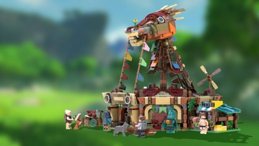 The Legend of Zelda Breath of the Wild LEGO