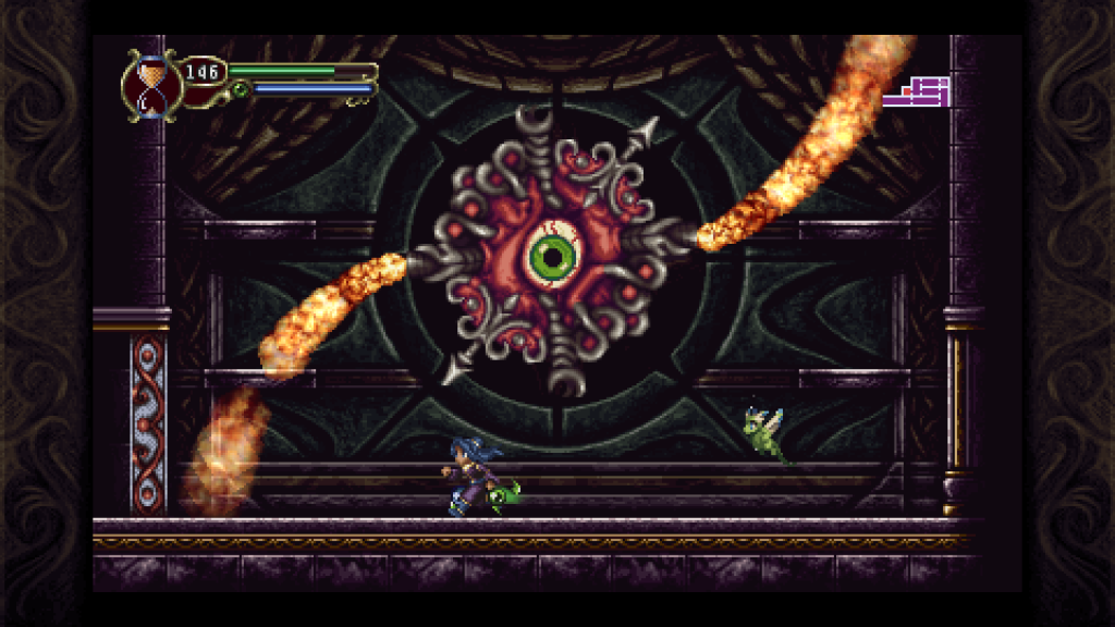 Timespinner is a perfect blend of action, platforming, Metroidvania, and RPG elements.