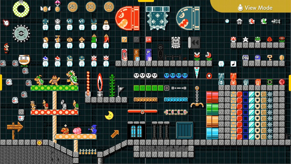 The Staggering Visual Variety of Super Mario Maker 2 – Nintendeal