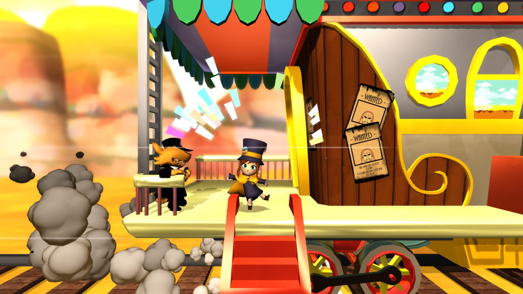 A Hat in Time was funded by a successful Kickstarter campaign.